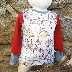"""Bio Babyshirt, Jersey """"Ich male Mir meine Welt"""""""