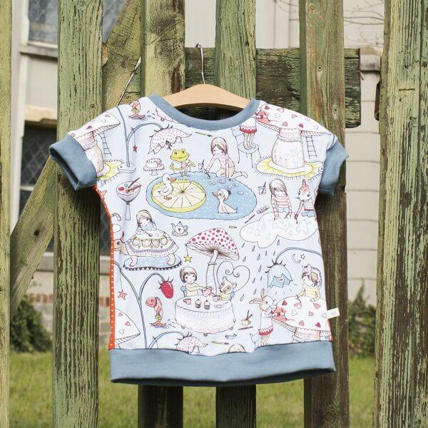 """Bio T-Shirt, Jersey """"Ich male mir meine Welt"""""""