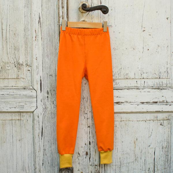 Bio Leggings, BioJersey orange