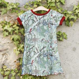"""Bio T-Shirtkleid, BioJersey """"Dschungel"""""""