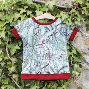"Bio T-Shirt, BioJersey ""Dschungel"""
