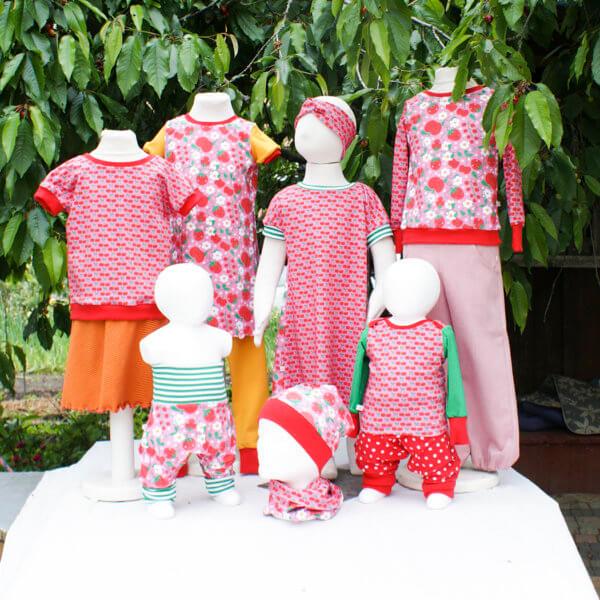 """Individuelles Design, Kollektion 9 """"Erdbeeren & Kirschen"""""""