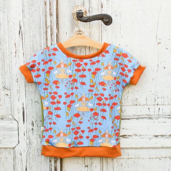 """Bio T-Shirt, BioJersey """"Die kleine Mohnfee"""""""