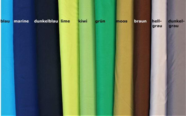 BioJersey, 20 Farben, blau bis dunkelgrau