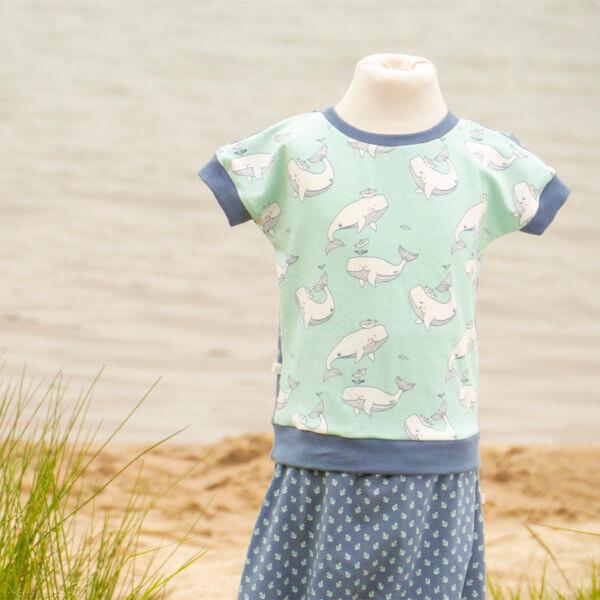 """Bio T-Shirt, BioJersey """"Anker & Wale"""""""