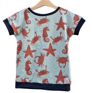 "Bio T-Shirt, BioJersey ""Meerestiere"""