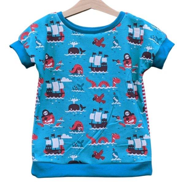 "Bio T-Shirt, BioJersey ""Piraten"""