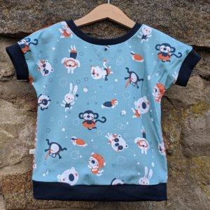 "Bio T-Shirt, BioJersey ""Swimming Party"""
