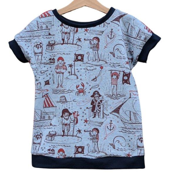 "Bio T-Shirt, BioJersey ""Piratenleben"""